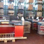 Vendita Attrezzature Supermercato Usate.Banchi Cassa Usati
