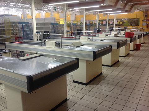 Scaffalature Per Supermercati Usate.Supermercato 63 Scaffali Usati Bologna Compravendita Scaffalature