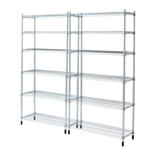 scaffalatura leggera tipo IKEA