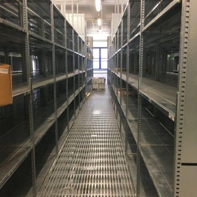 scaffali usati per magazzino