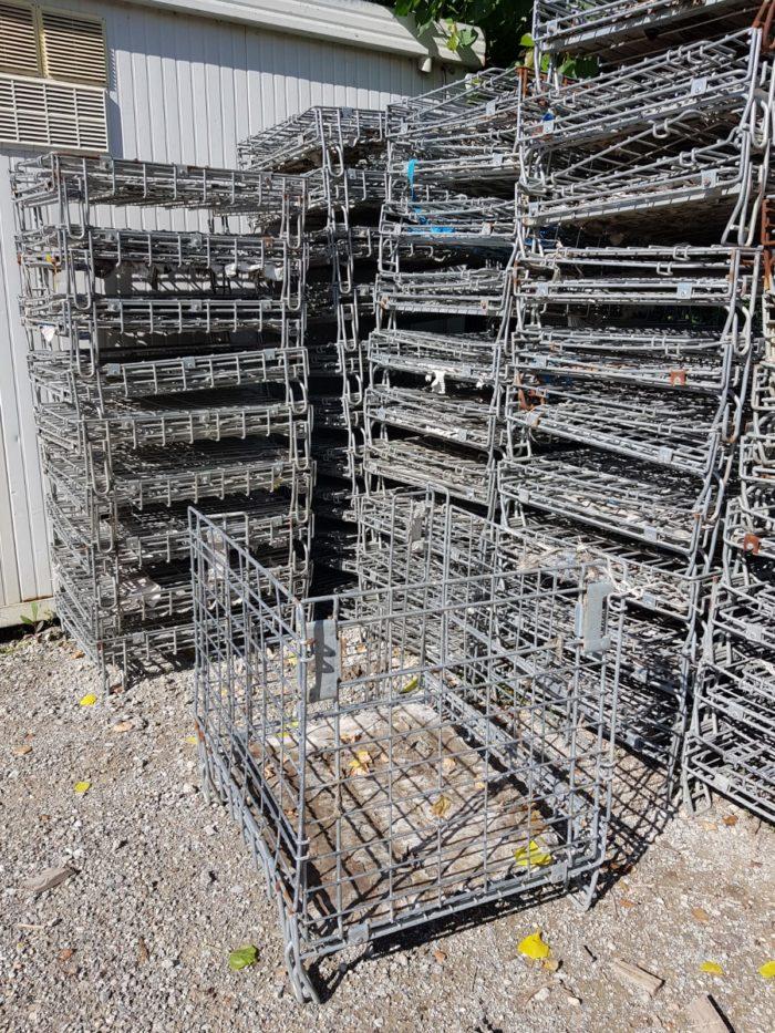 cestini metallici usati